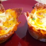 muffin tin lasagnas