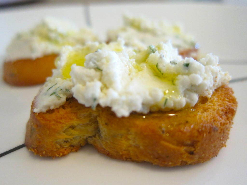 Homemade Goat Cheese- Inspired by CHARCUT