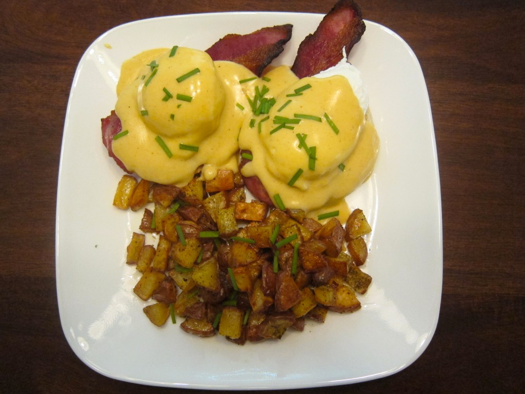 Sunday Brunch- Mutha-f*ckin' good Eggs Benedict