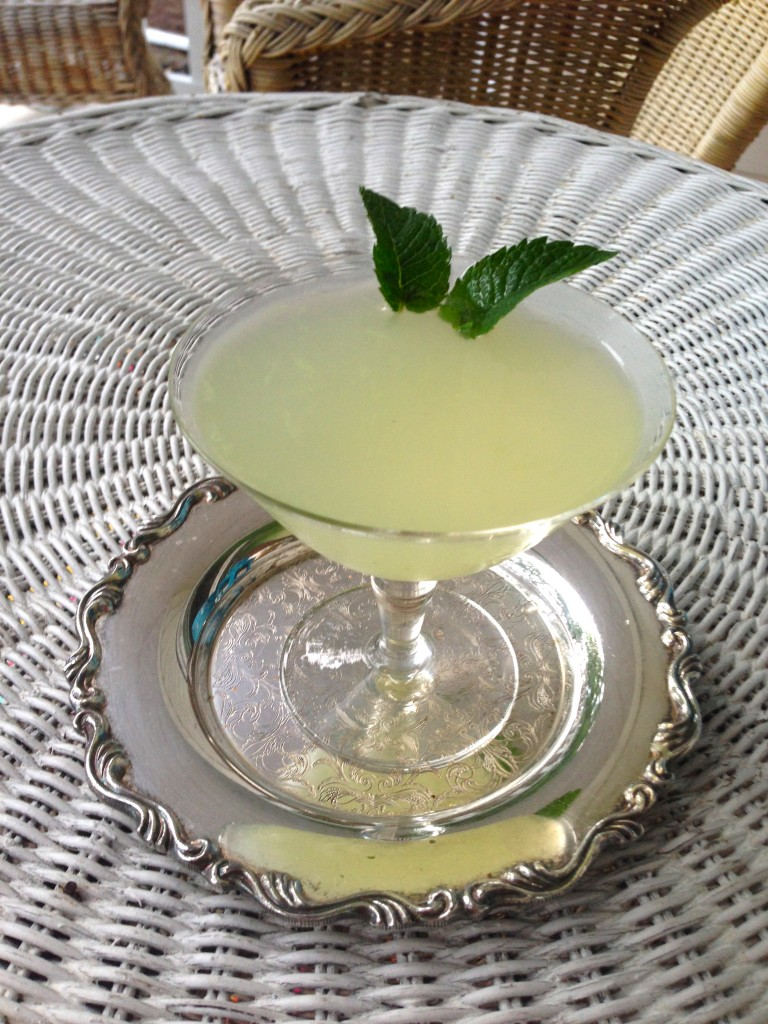 Summer Drinks – Pisco Mint Smash