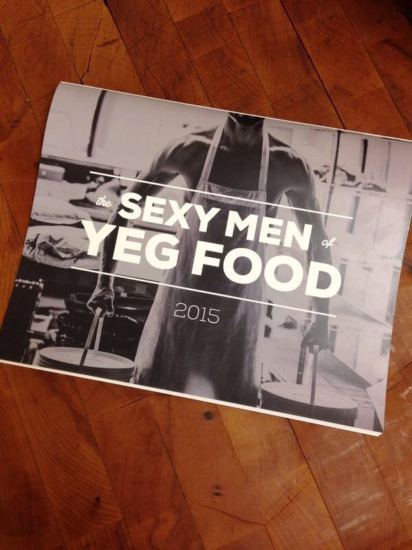 Sexy Men of YEG food