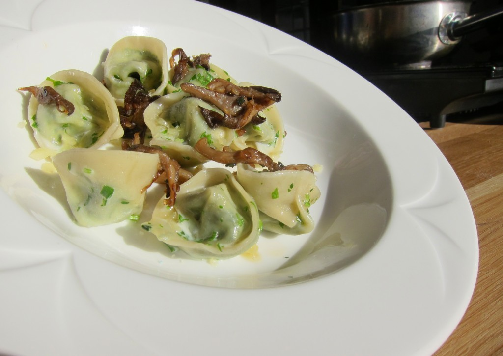 Dale MacKay's Spinach and Ricotta Tortellini