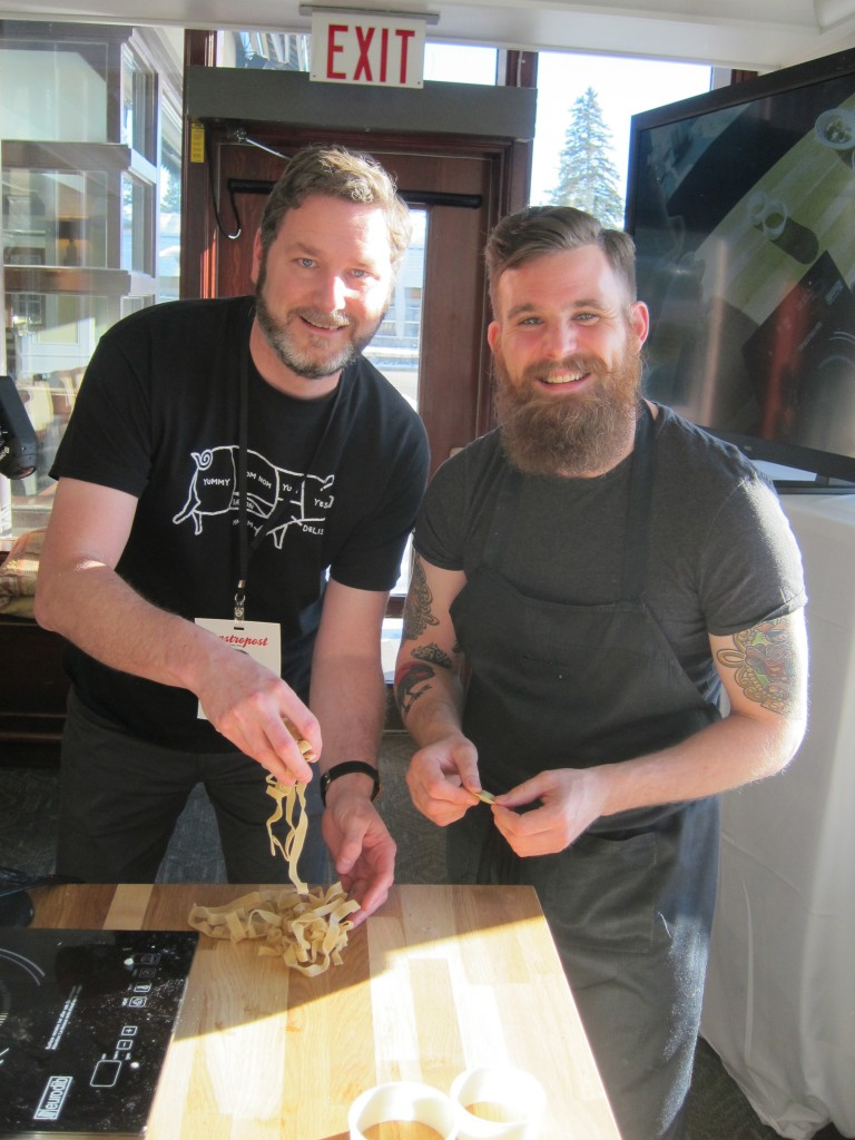 Making Fresh Pasta with Top Chef Dale MacKay in Jasper