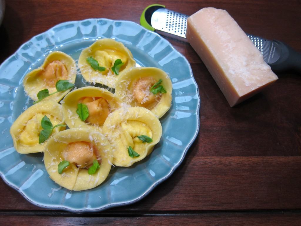 Carrot and Boursin Tortellini