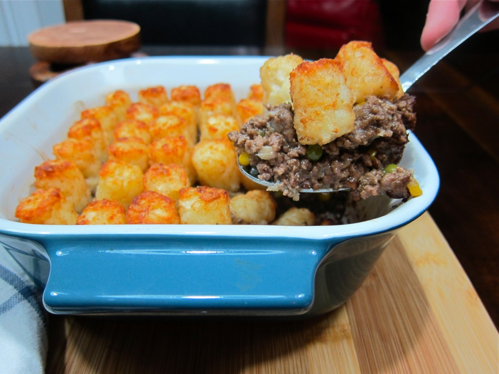 The Best Tater Tot Shepherds Pie