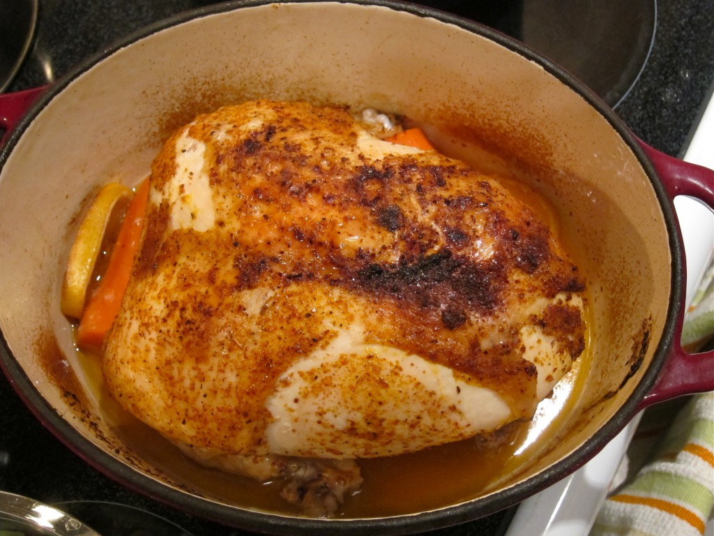 Roast Chicken- so tender and juicy!
