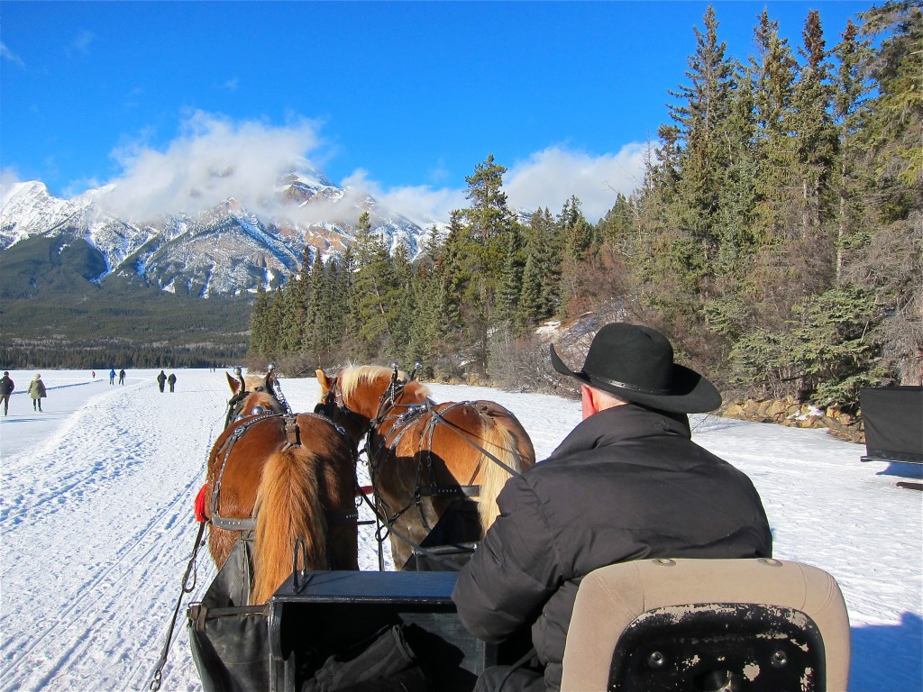 Pyramid Lake Jasper Sleigh Ride