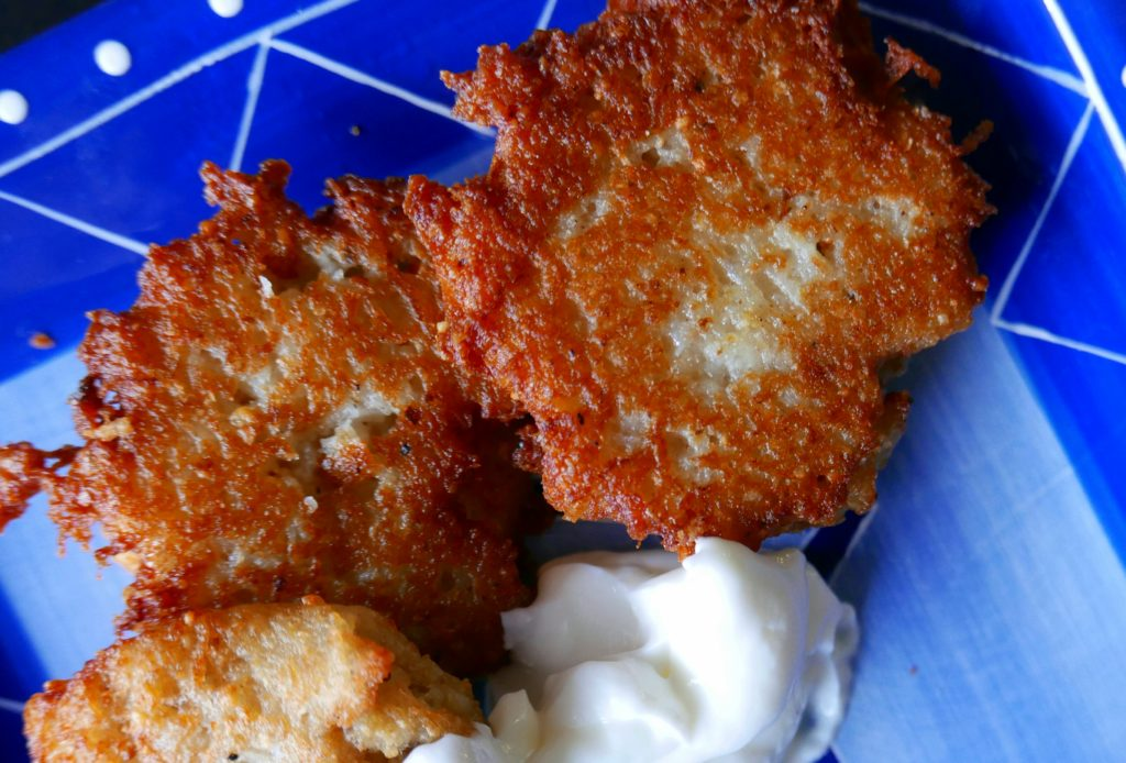 Community Table Project: Chanukah Latkes
